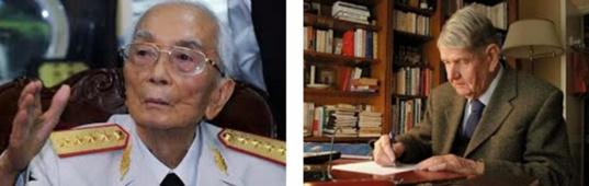 Réponse à l'hommage de Laurent Fabius au général GIAP