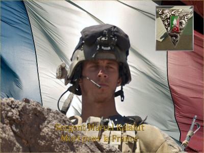 07/05/2013 - Sergent Marcel KALAFUT - 25 ans (2eme REP)