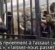 Scène de guerilla urbaine aux Invalides