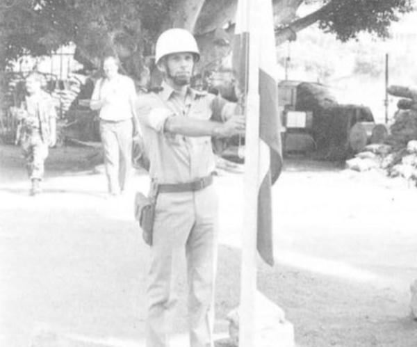 14/01/85 Adjudant chef Patrice GRECOURT (2ème RH)