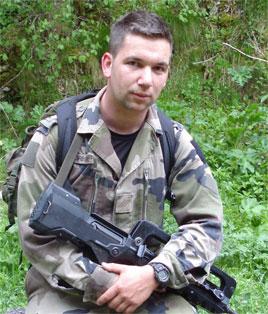 18/08/08 Caporal-Chef Nicolas GREGOIRE (26 ans) 8ème RPIMa