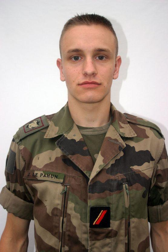18/08/08 1ère classe LEPAHUN Julien (19 ans) 8ème RPIMa