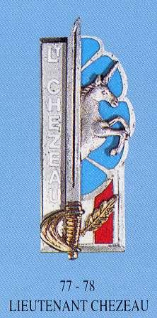 17/09/57 - Lieutenant Robert CHEZEAU (28 ans) 1er RHP