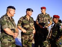 Le général Georgelin prépare sur le terrain le redéploiement français en Afghanistan