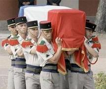 2e Rep - La Nation rend un dernier hommage à Konrad Rygiel, mort en Afghanistan