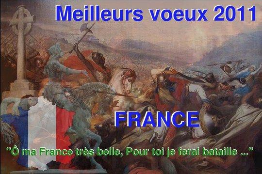 Soldats de France je vous souhaite une bonne année !