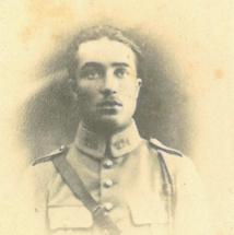 04/09/1918 : S/Ltn Georges GASCOU (22 ans) - 4eme Cuirassiers détaché au 224eme RI.