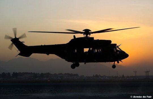 Chute mortelle d'un Adjudant-Chef de l'armée de l'air d'un hélicoptère Cougar