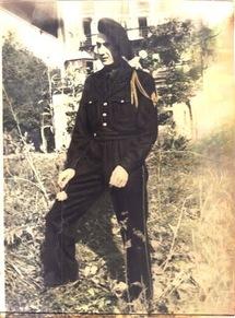 04/05/1954 - CCH Guy BERNARD - (24 ans) Bon de Corée , 1er RIC, 1ere Cie