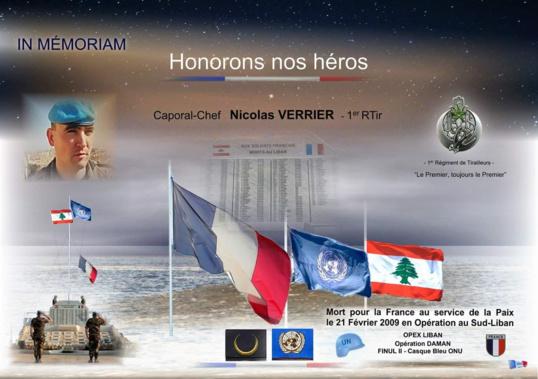 21/02/2009 - Caporal-Chef Nicolas VERRIER - 1er RTir