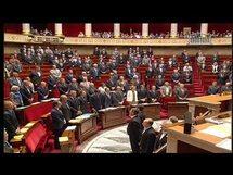 Enfin une minute de silence à l'Assemblée Nationale !