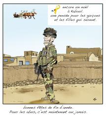 Dessin de Alain LESBATS, en hommage à nos Sentinelles (http://www.araald-graph.com/)