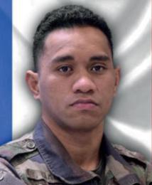 28/12/2020 : Brigadier-chef Tanerii MAURI (28 ans) 1er RC (Regiment de Chasseur)