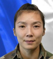 02/01/2021 : Sergent Yvonne HUYNH (33 ans - 1 enfant) 2eme Hussard