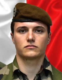 02/01/2021 : Brigadier Loic RISSER ( 24 ans) 2eme Hussard