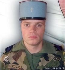 La chienlit a encore frappé ! La tombe de notre jeune Camarade Clément Kovac, tombé en AFGHA, saccagée  !!!
