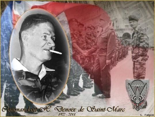 Le Commandant Helie Denoix de St Marc s'en est allé.