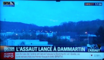 Assaut des forces de l'ordre à Dammartin l'otage des frères Kouachi libéré ! les 2 suspects tués !  Assaut porte de Vincennes le suspect tué ! des otages libérés ! une 2eme victime non identifiée à ce stade. 3 otages tués.