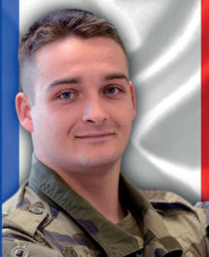 28/12/2020 : 1re classe Quentin Pauchet (21 ans) - 1er RC (Regiment de Chasseur)