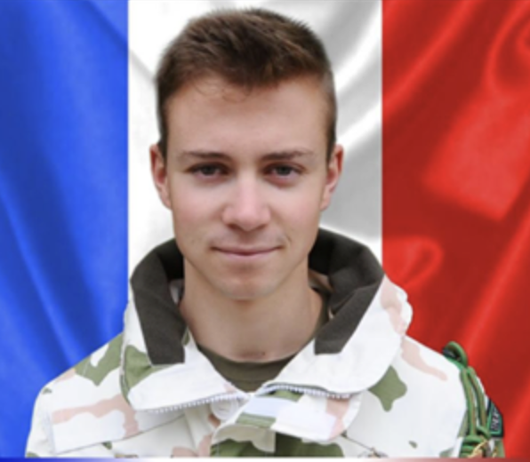 25/11/2019 : MDL Antoine SERRE (22 ans) 4eme Chasseur