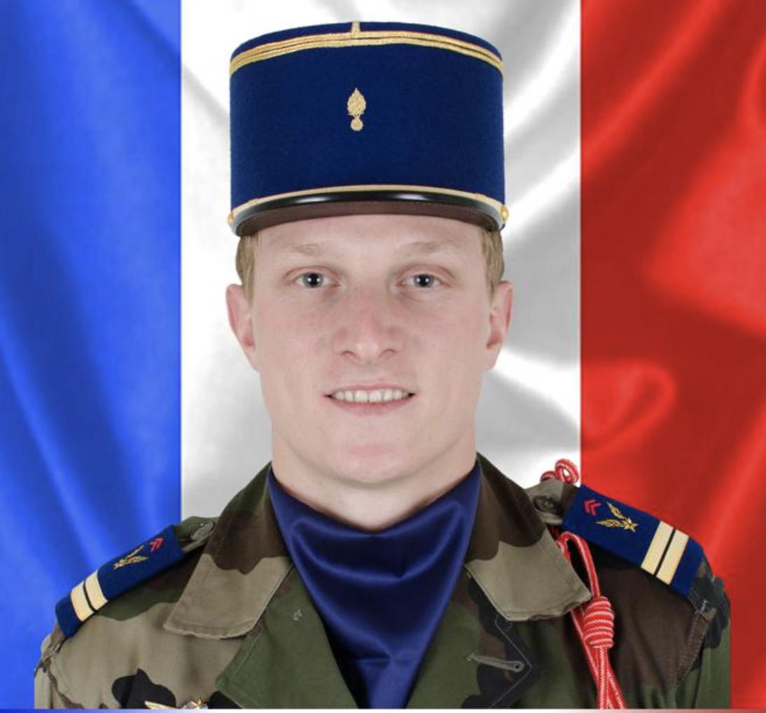 25/11/2019 : Ltn Pierre BOECKEL  (28 ans , 1 enfant ) 5eme RHC