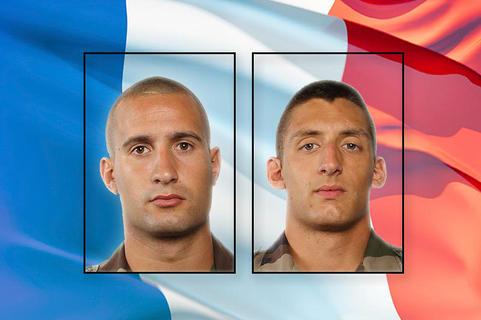 Les Parachutistes LE QUINIO et VOKAER du 8ème RPIMa tués à Bangui hier soir (mise à jour du 11/12/2013)
