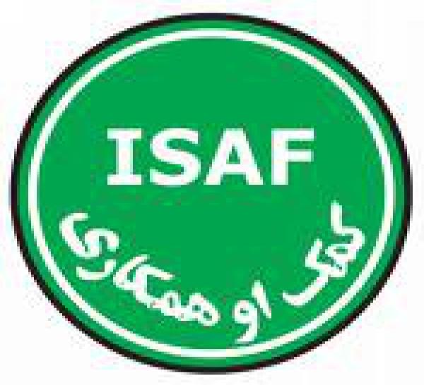 La carte des implantations des forces de l'ISAF