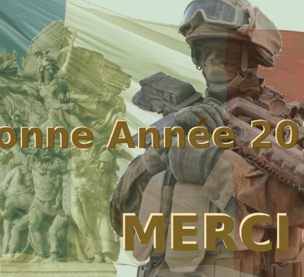 BONNE ANNEE 2010 Aux sentinelles qui veillent pour notre Liberté
