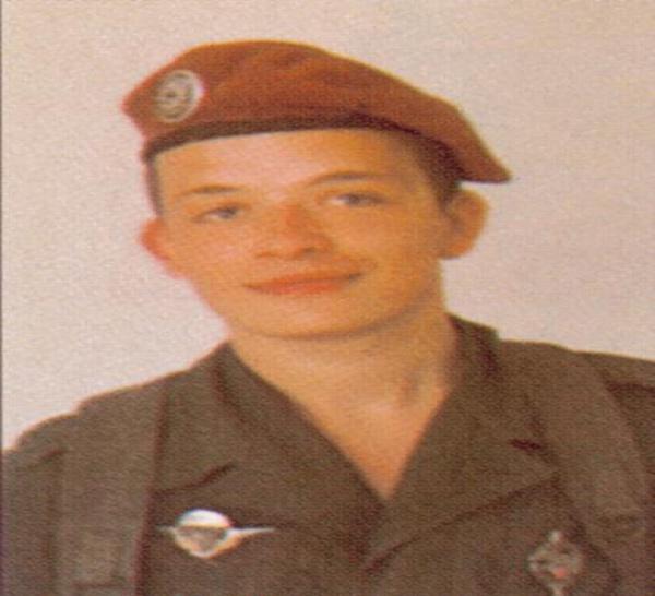 24/05/82 - Parachutiste Daniel RICHARD (20 ans) 35ème RAP