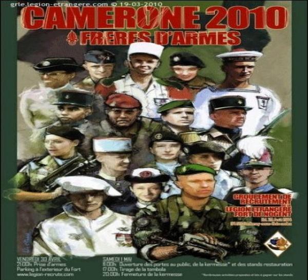 BON CAMERONE 2010 !