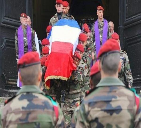 Homélie de l'aumônier Para pour les obsèques du Caporal Abel CHENNOUF